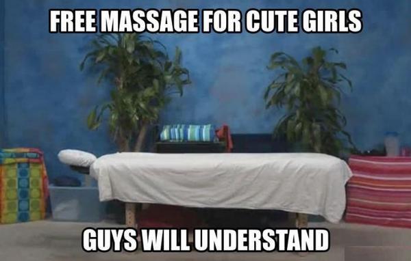 J'ai fait un massage à une kiné de 28 ans