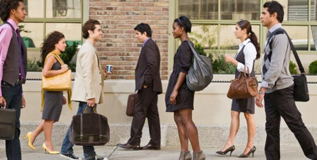 rencontre dans la rue