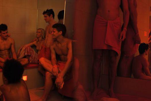 sauna dans club libertin
