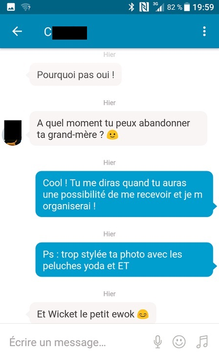 draguer sur happn